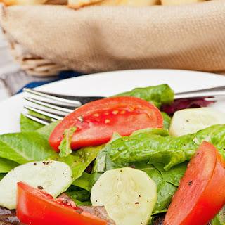 Italian Salad With Basil Vinaigrette
