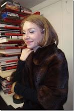 """Photo: BUCHPRÄSENTATION """"DER UNTERGANG DER LIEBE"""" von MEINHARD RÜDENAUER am 13.2.2015. Maria Nazarova gestaltete das musikalische Programm.  Foto: Herta Haider"""