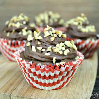 Banana Nut Fudge Brownie Cupcakes.