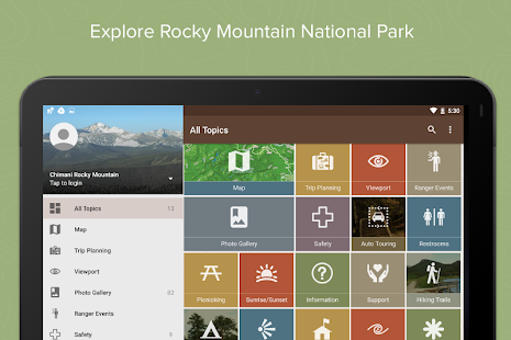Rocky Mountain NP by Chimani- screenshot thumbnail
