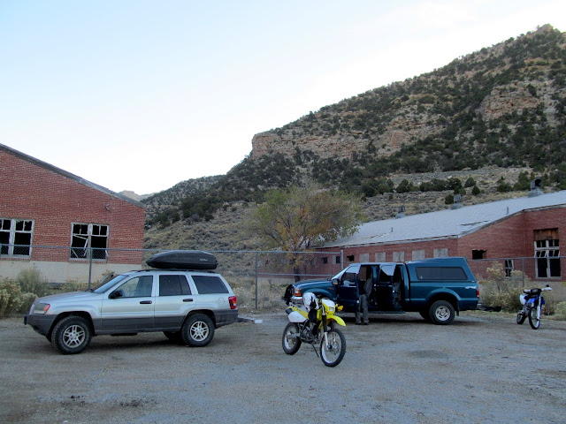 Staging area at the Horse Canyon mine