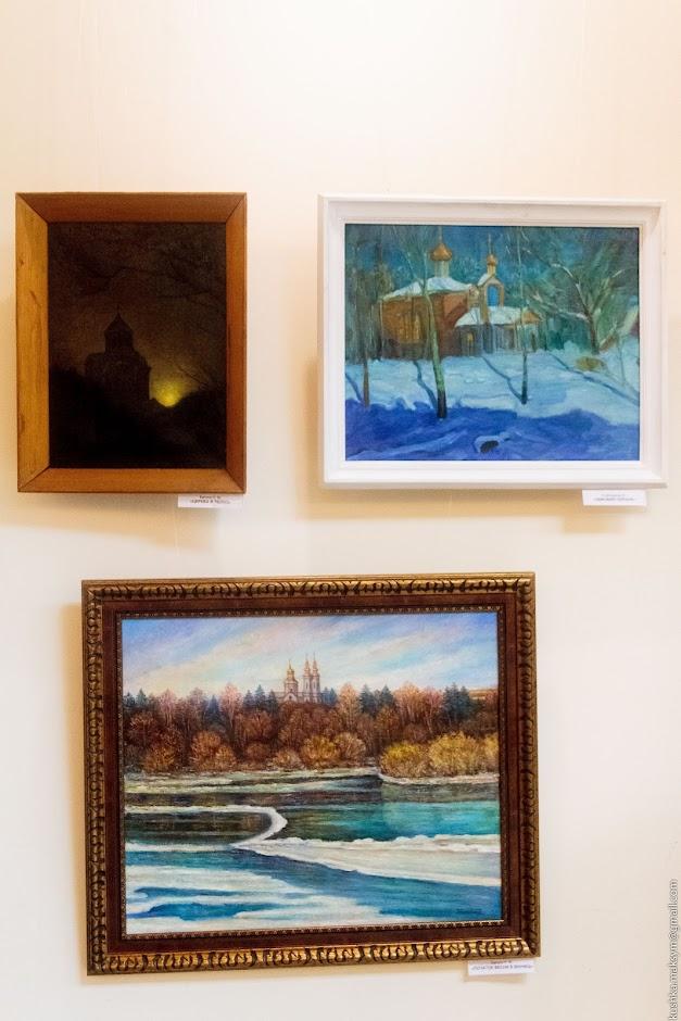 Вінницькі художники показали найкращі свої роботи у підсумковій виставці року