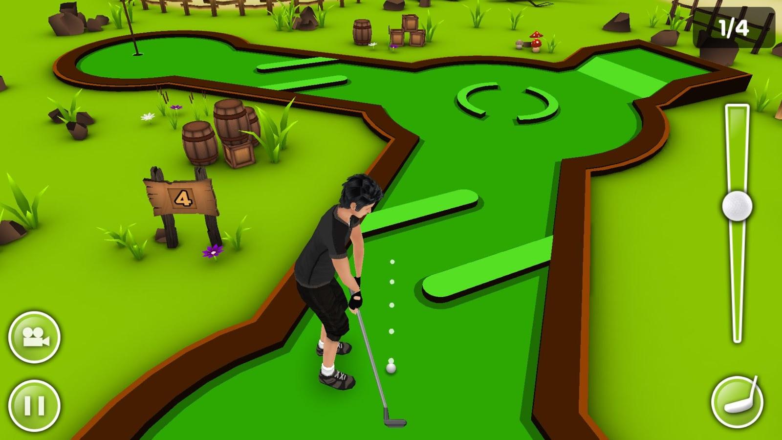 [أندرويد]تحميل لعبة الجولف المثيرة Mini