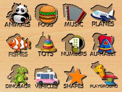 Animals Puzzles Screenshot