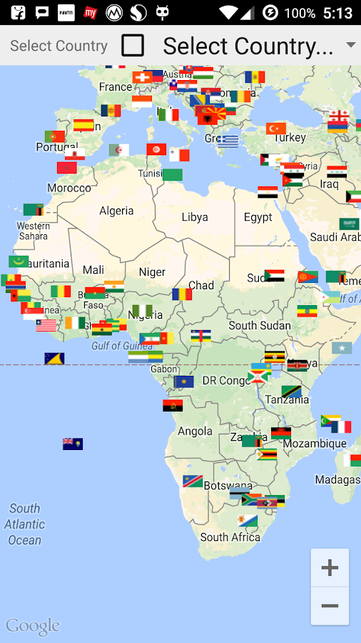 All Country Flags In Map Android Apps On Google Play - Map of all countries
