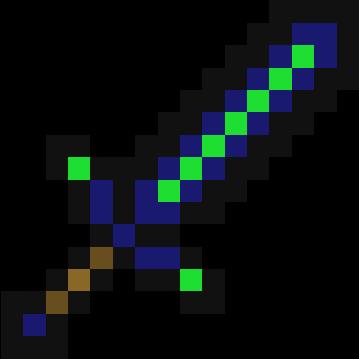 Diamond Emerald Sword Nova Skin