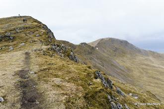 Photo: Approaching Mainnir nam Fiadh and Dun da Ghaoithe, Mull