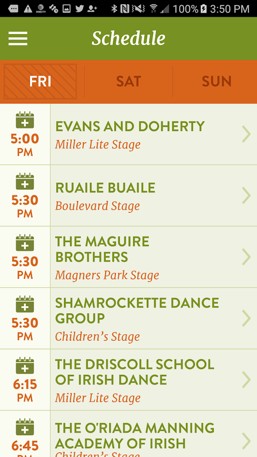 KC Irish Fest- screenshot