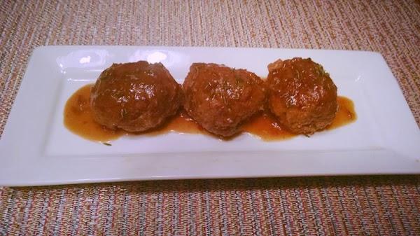 Venison Salisbury Steak Meatballs Recipe