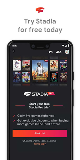 Stadia screenshot 1