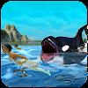 الجياع الحوت الأزرق هجوم محاكي APK