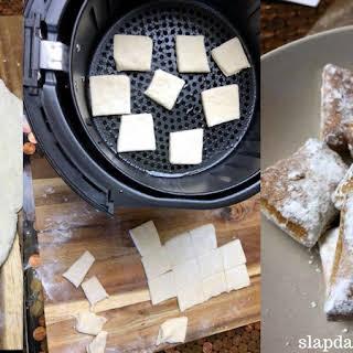 Air Fryer Funnel Cake Bites.