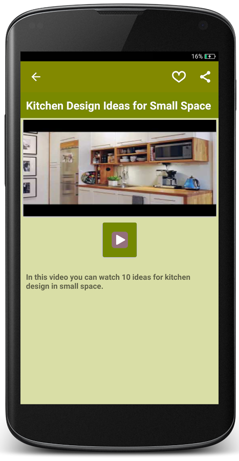 Kitchen Design Video kitchen design ideas - android apps on google play