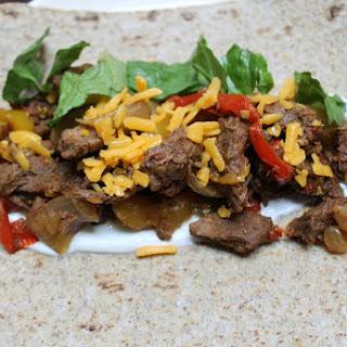 Easiest 5 Ingredient Slow Cooker Fajitas Ever!