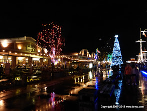 Photo: Asiatique. A riverfront market and entertainment complex. It was very near our hotel.