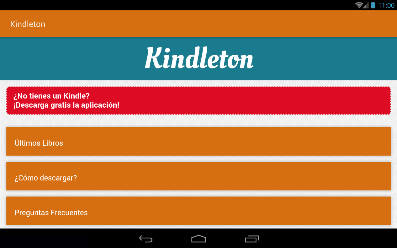 Kindleton- screenshot