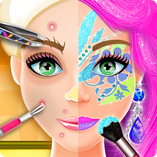 Fashion Doll Face Painting