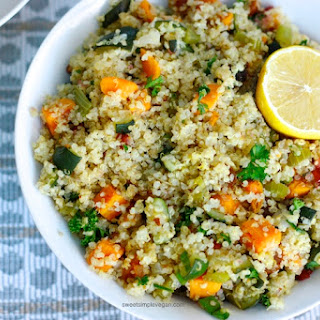 Vegan Quinoa Stuffing (Gf) Recipe