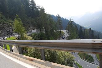 Photo: Winding Alpine roads