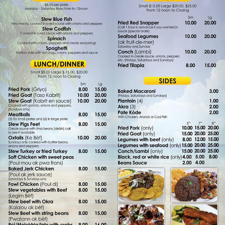 Creole Fusion Haitian American Cuisine Haitian Restaurant
