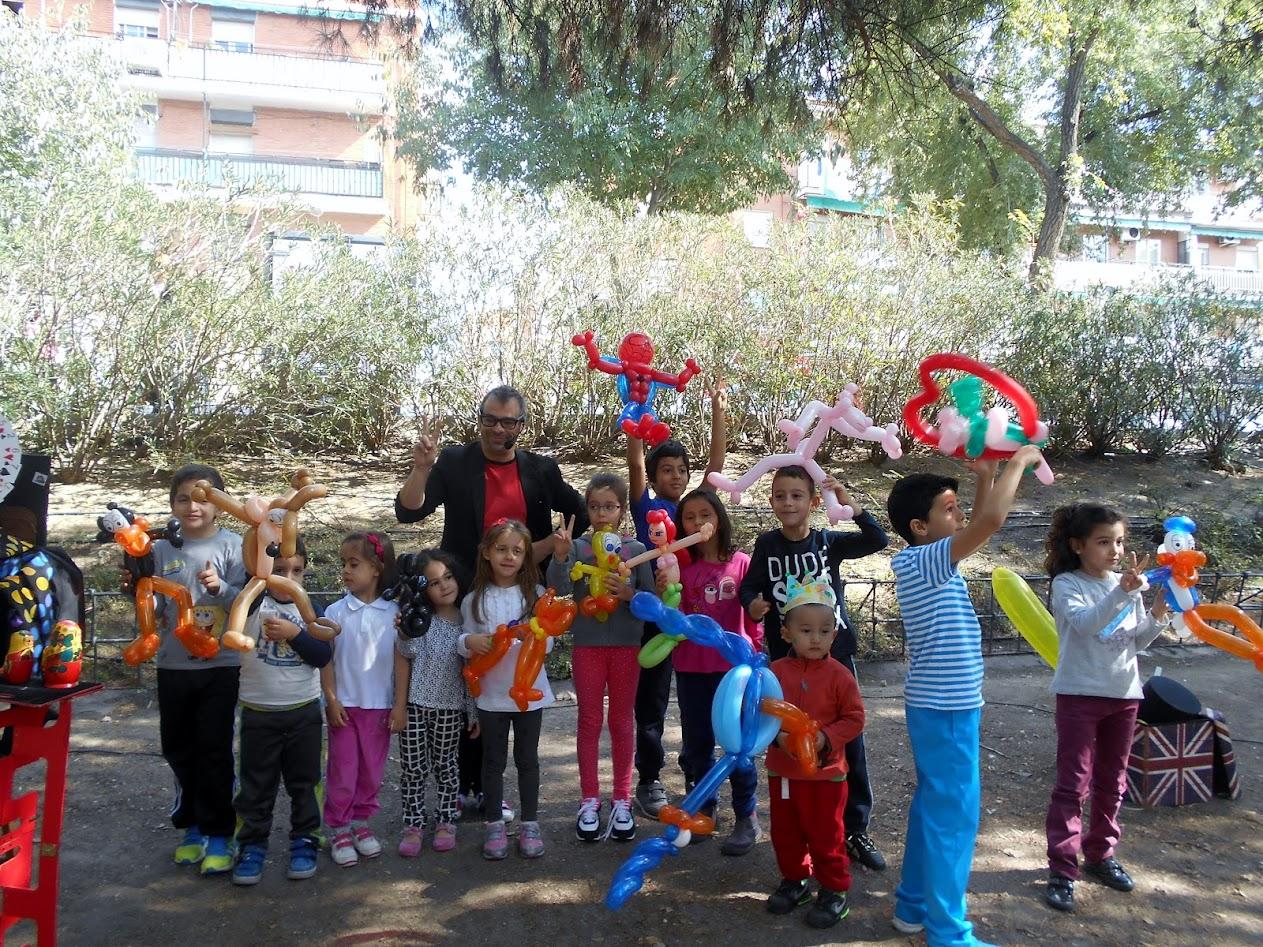 magia y globoflexia en distrito de villaverde 2015