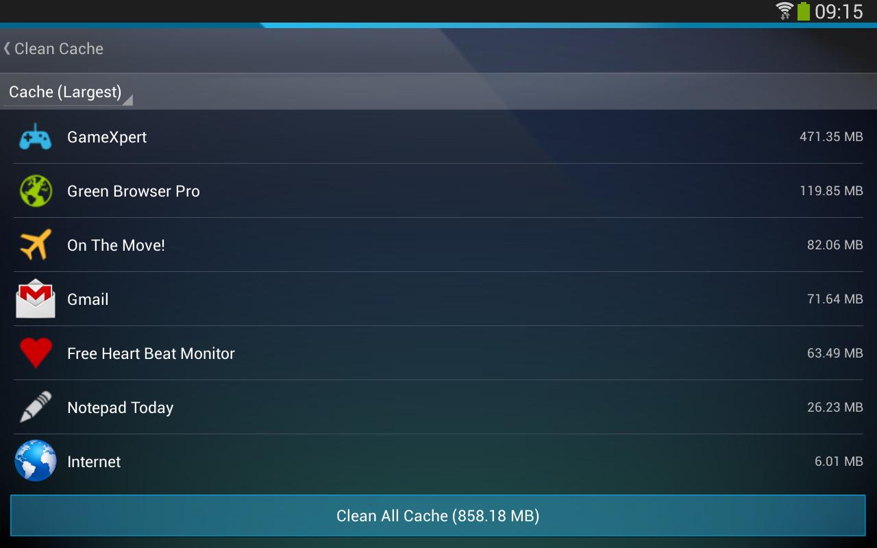 AVG Cleaner & Battery Saver- screenshot