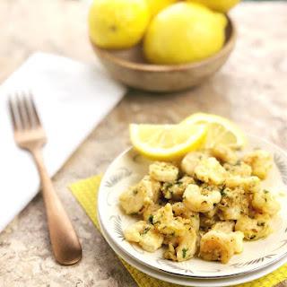 Lemon Garlic Shrimp.