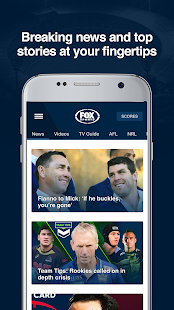 Fox Sports - AFL, NRL & Sports- screenshot thumbnail