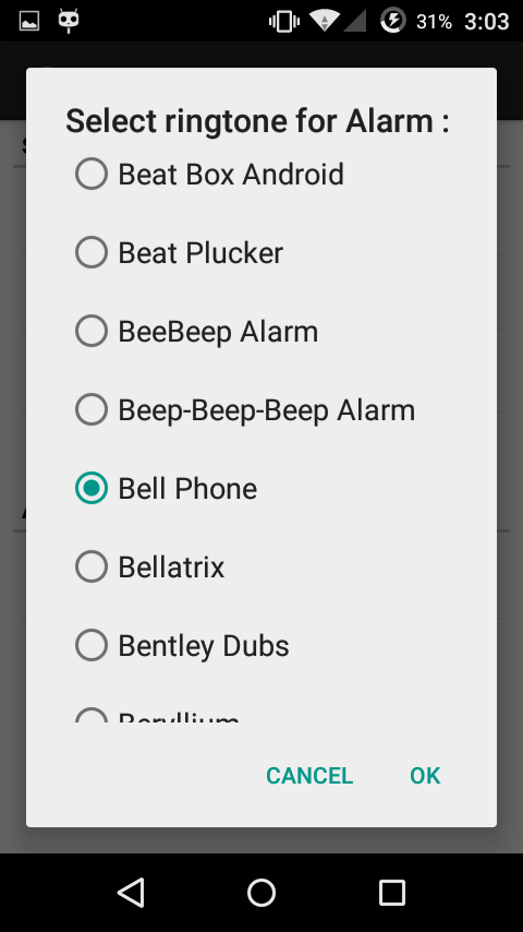 Full Battery Alarm- screenshot
