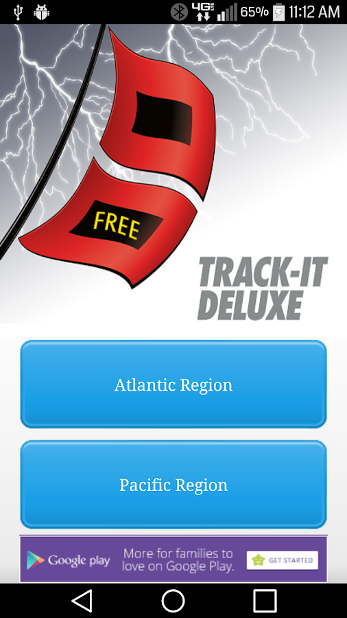 Track-It for Hurricanes - screenshot