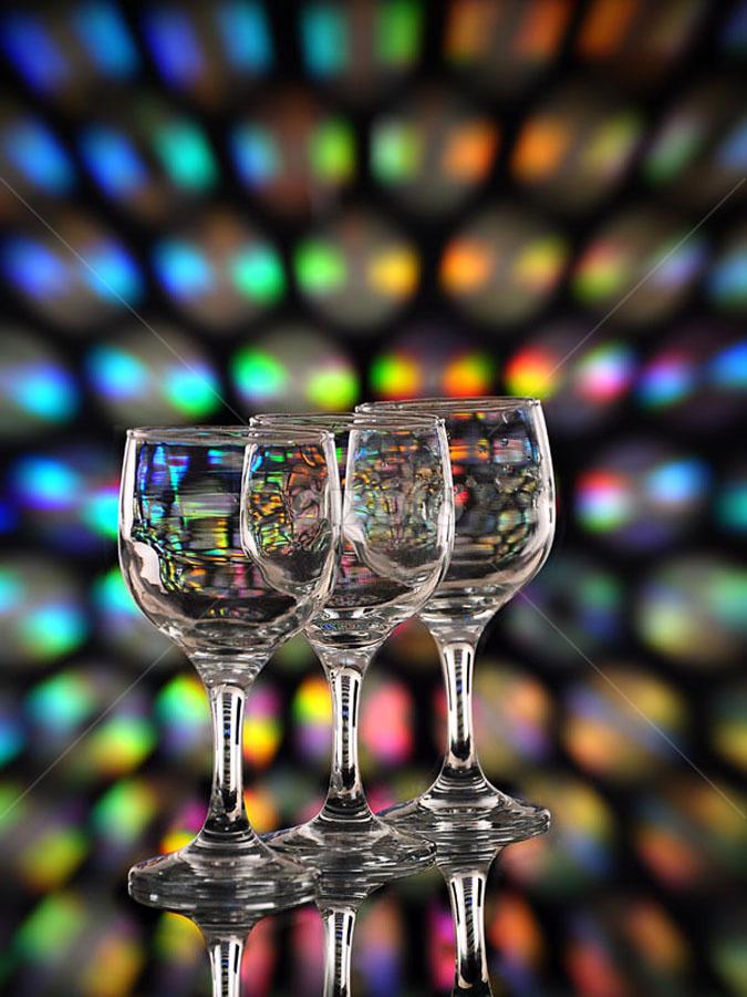 by Heru Sulistiono - Artistic Objects Glass ( champagne glasses )