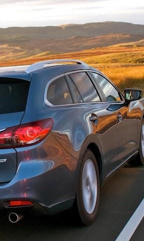 android Wallpaper Mazda 6Wagon Screenshot 0