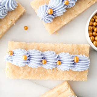 Buttercream Frosted Shortbread