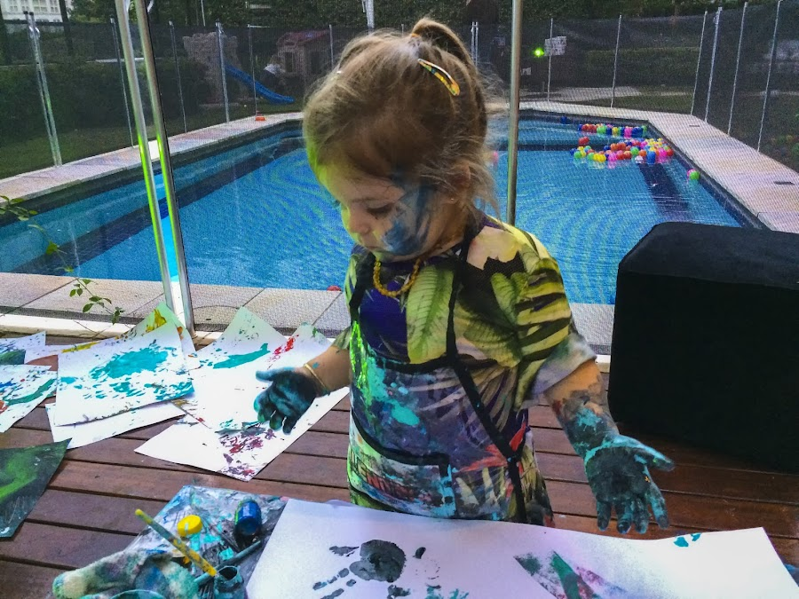 An artist at a time of creation! by Rogerio Ribas - Babies & Children Children Candids