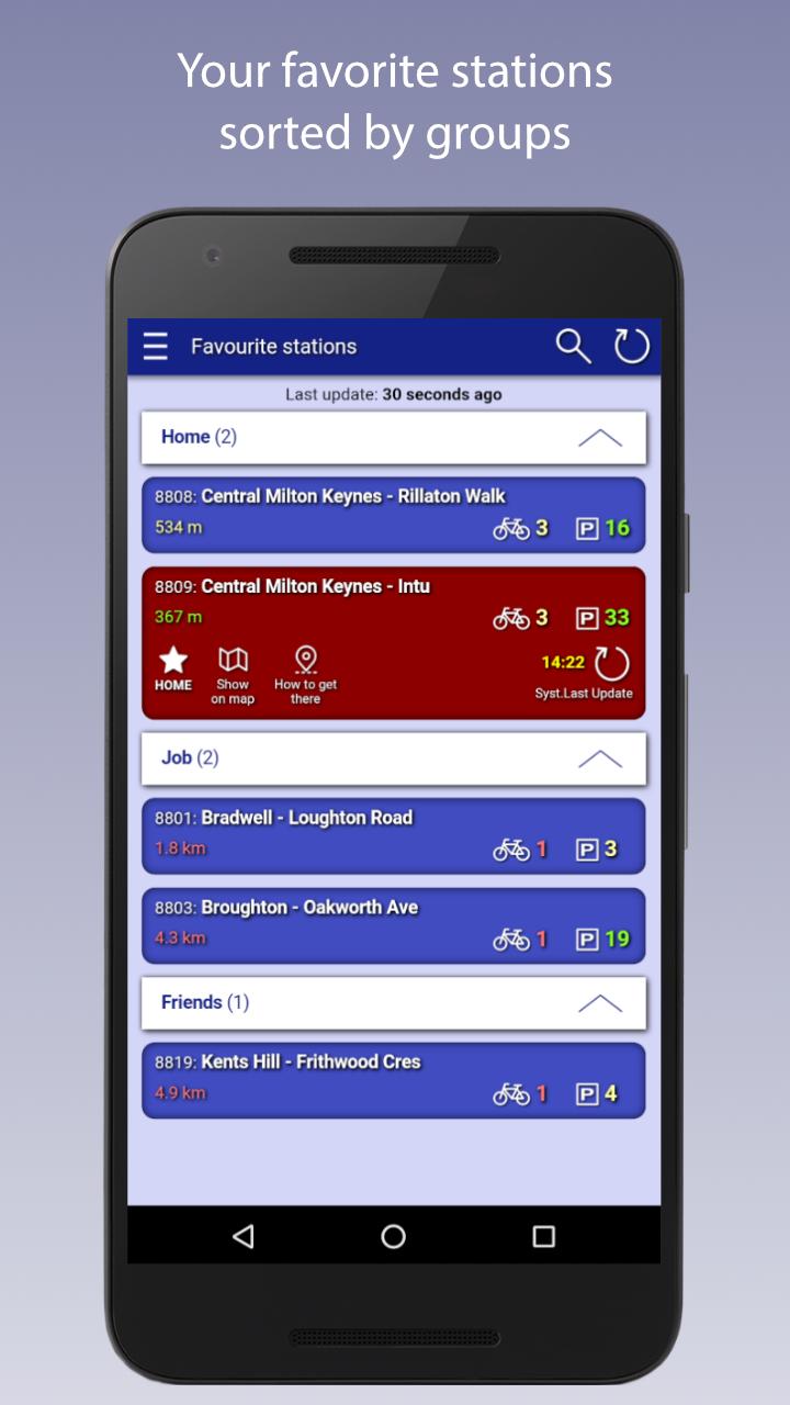 Скриншот MK Santander Cycles