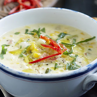 Corn and Bacon Chowder.