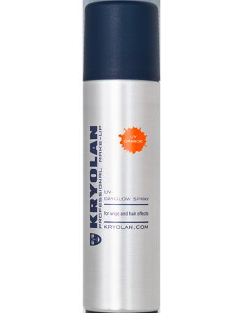 Kryolan UV hårspray, Orange