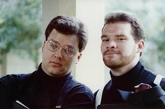 Photo: Nov. 1994: Patman Lester and Shawn Bartels