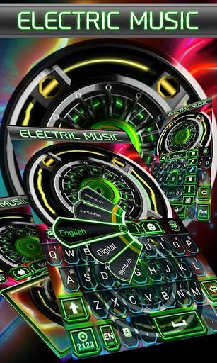 Electric Music Keyboard Theme
