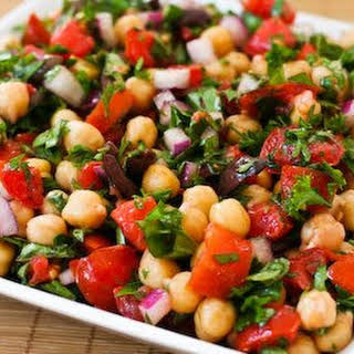Chickpea Salad Low Calorie Recipes.