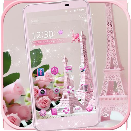 برج ايفل الوردي موضوع Paris التطبيقات على Google Play