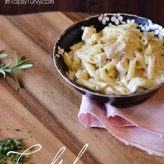 Chicken Penne Pasta.
