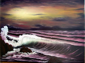 """Photo: 1110 Sunset. Oil on canvas. Frame: no. Price: 18"""" x 24"""" $229.00"""