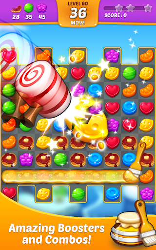 Lollipop: Sweet Taste Match 3 apkpoly screenshots 9
