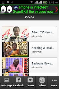 Ghana TV Adom screenshot 1