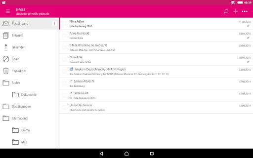 Telekom Mail screenshot 8