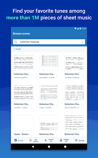 MuseScore: view and play sheet music 2.4.36 12