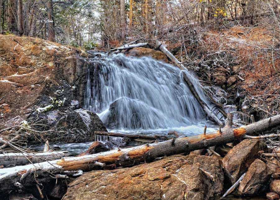 Mountain Brook by Dennis McClintock - Nature Up Close Water ( water, stream, waterfall, creek, waterfalls big or small contest,  )
