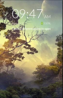 3 Touch Locker - Lock Screen - screenshot