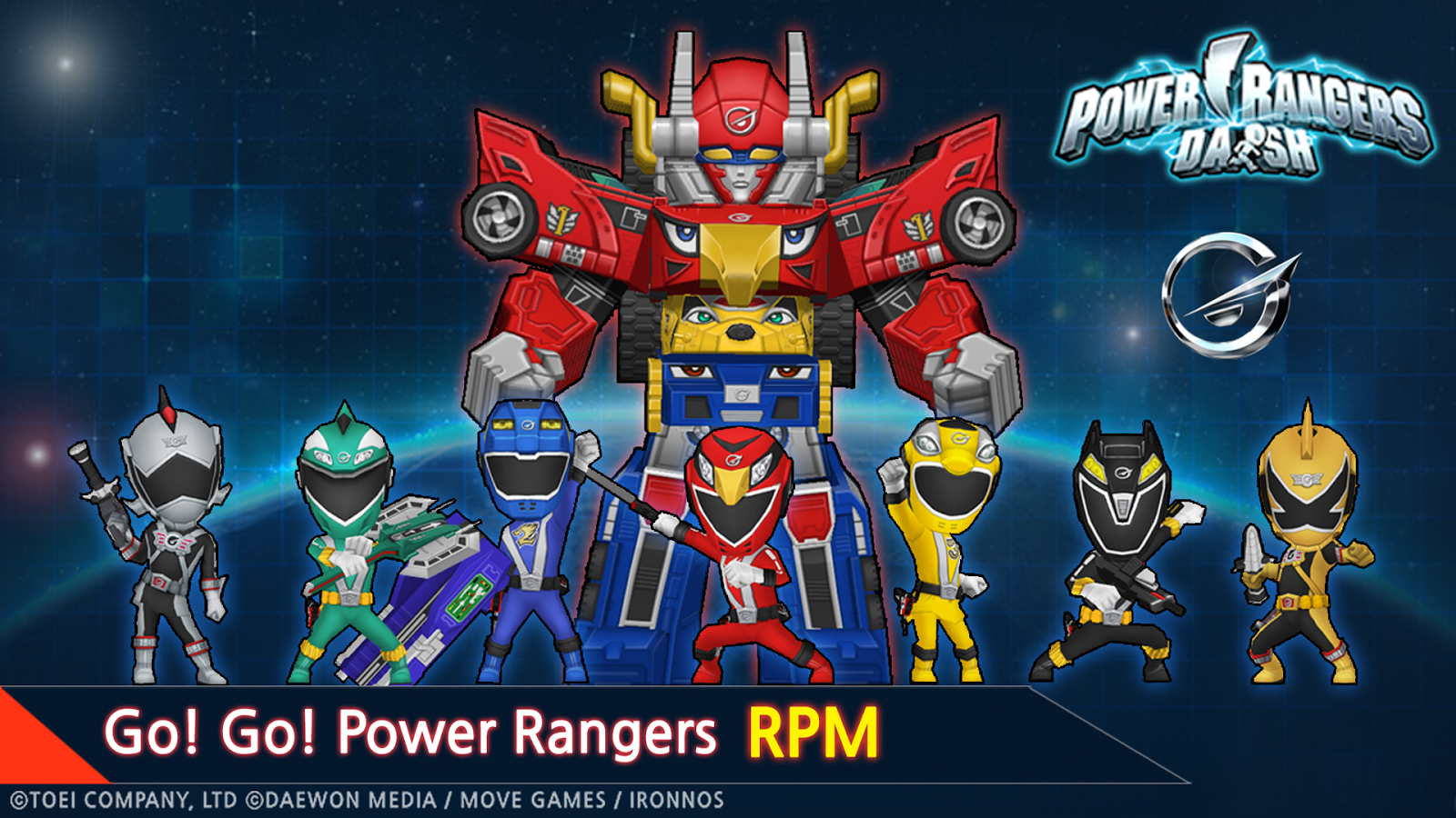 Power Rangers Dash (Asia)- screenshot